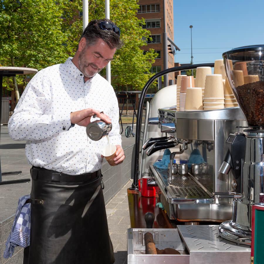 Een Barista is meer dan een luxe koffiemachine