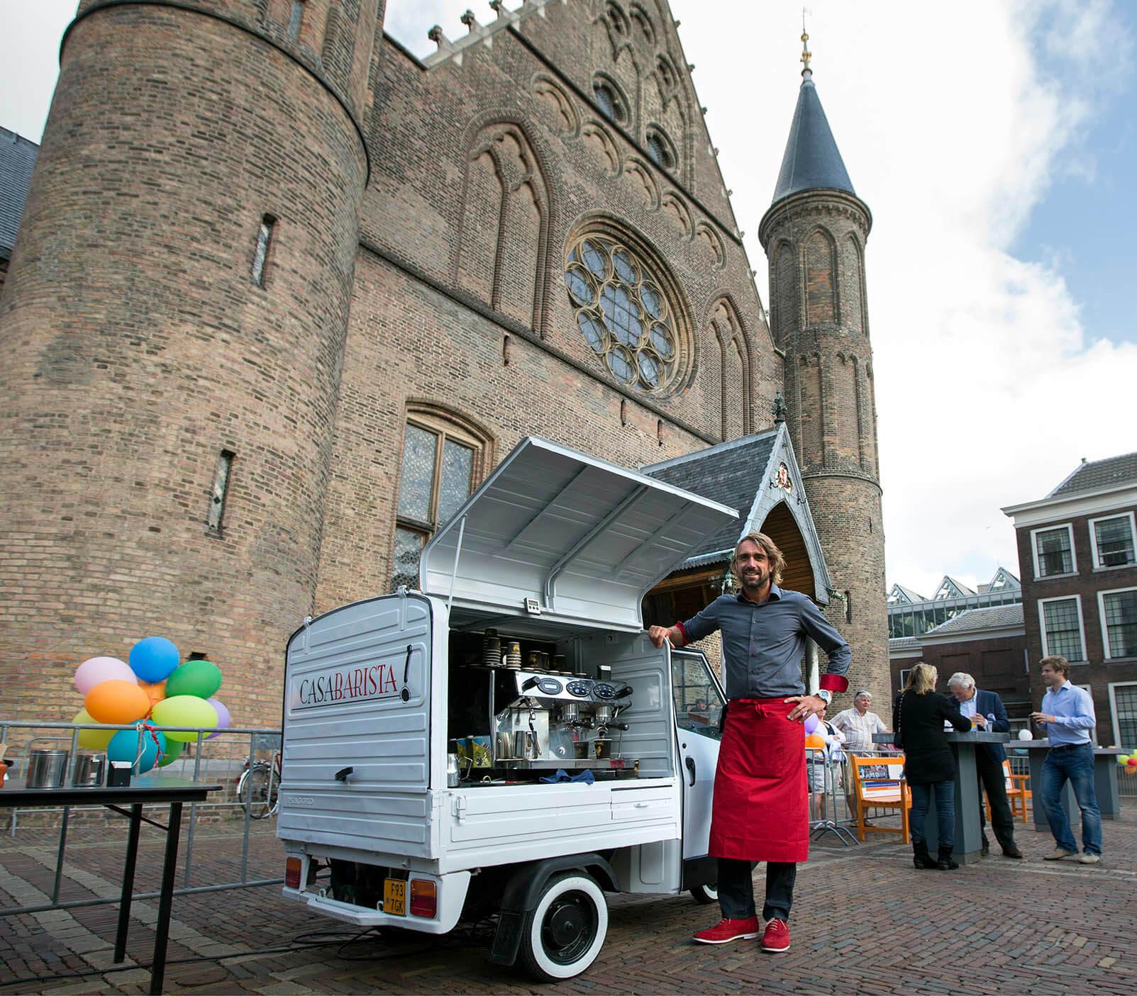 Coffee on Wheels Den Haag bezorgt je een geluksmomentje
