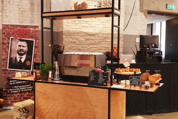 Coffee on Wheels mobiele bar