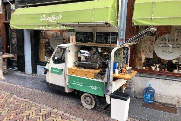 Mobiele barista op locatie