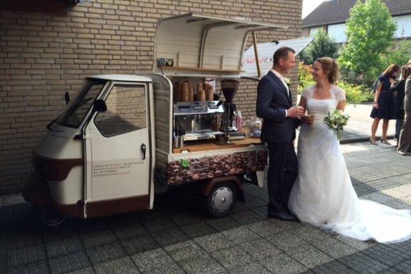 Barista voor bruiloft