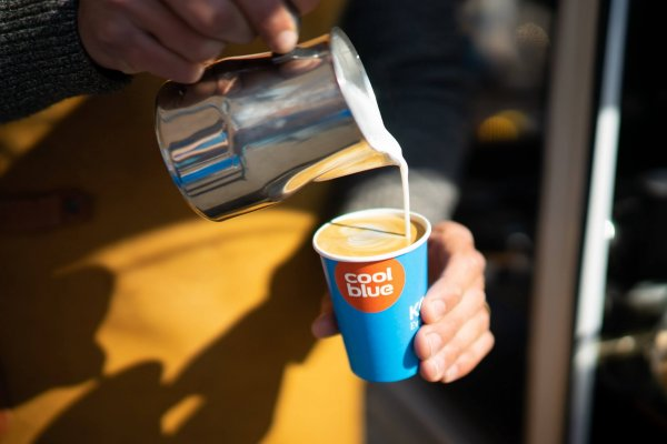 Branded coffee-cups