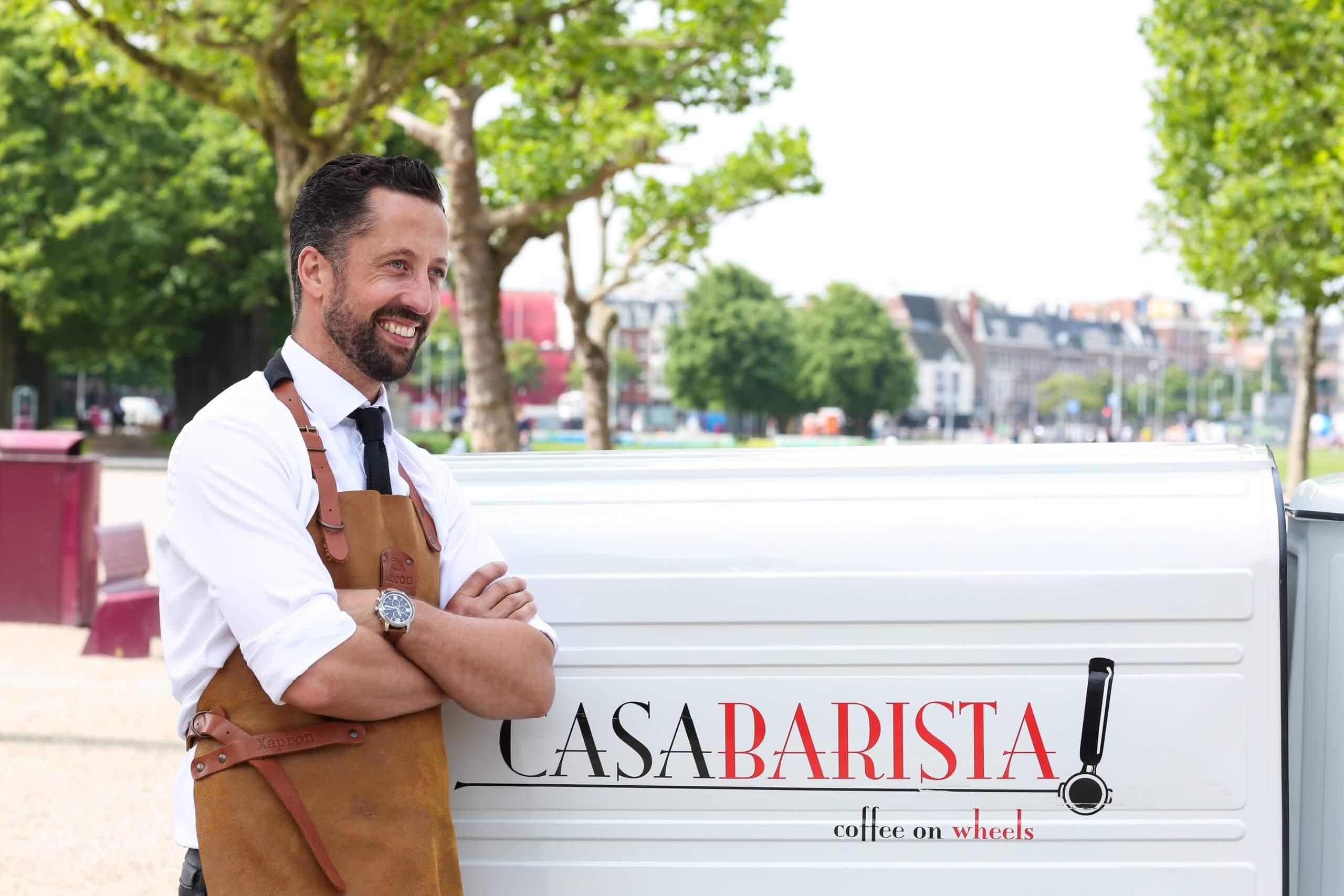 'A true moment of happiness' dat is waar het écht om gaat bij Coffee on Wheels Amsterdam