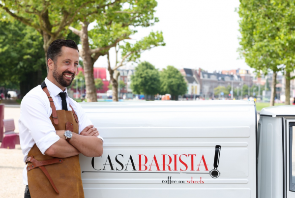 Barista Dave - Coffee on Wheels Amsterdam