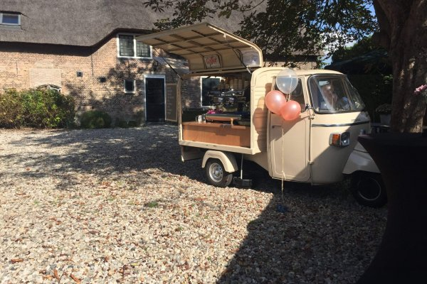 Coffee on Wheels Breda - Barista op locatie