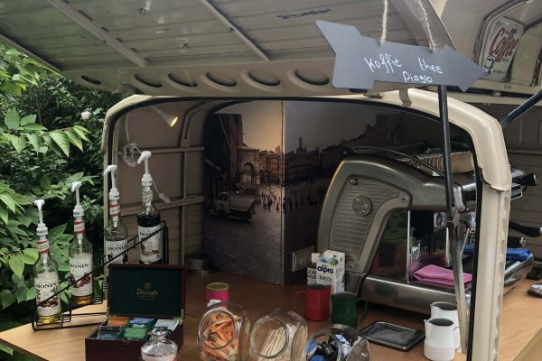 Coffee on Wheels Breda - Koffie op bruiloft