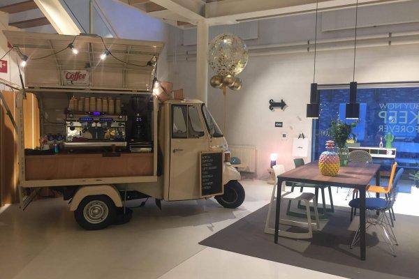 Coffee on Wheels Breda - Barista inhuren