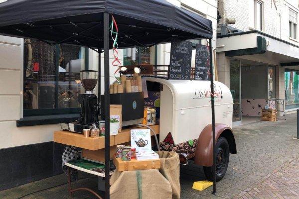 Koffieaanhanger met tent_foto1